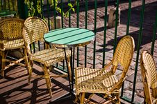 Free Table And Chairs Stock Images - 23568624