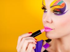 Free Close-up Portrait Of Sexy Woman With Make-up Royalty Free Stock Images - 23569209