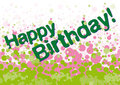 Free Happy Birthday Greetings Card Royalty Free Stock Photography - 23572137