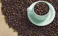 Free A Cup Of Coffee Bean Stock Photos - 23578343