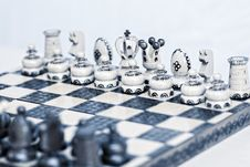 Free Abstract Toned Chess Board Royalty Free Stock Image - 23570046