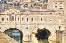 Free Pulteney Bridge, Bath Royalty Free Stock Images - 23576599