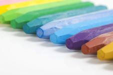 Free Group Of Crayons Stock Photography - 23578422