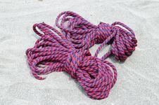 Ropes. Stock Photo