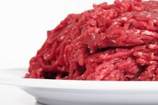 Free Minced Meat. Royalty Free Stock Photo - 23579105