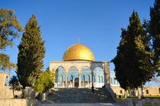 Free Dome Of The Rock Stock Images - 23585504