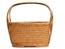 Free The Brown Basket Royalty Free Stock Photos - 23586858