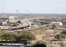 Free Highway Connect Downtown And Suburban In City Royalty Free Stock Photo - 23587345
