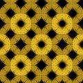 Free Yellow On Black Seamless Background Royalty Free Stock Images - 23597779