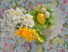 Free Easter Still-life Royalty Free Stock Photo - 23590865