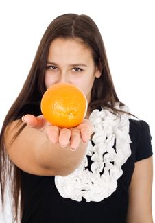Free Oranges Royalty Free Stock Image - 23591156