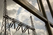 Free Power Pylons Royalty Free Stock Photography - 23592227