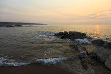 Free Sunrise Over The Sea Stock Photos - 23593143