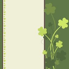 Free St Patrick S Day Card Royalty Free Stock Photography - 23593197
