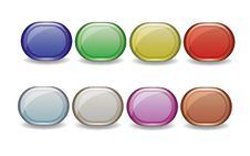 Free Buttons Royalty Free Stock Image - 23593236