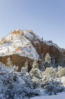 Free Sunrise After The Storm,zion. Royalty Free Stock Image - 23595486
