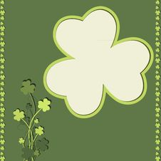 Free St Patrick S Day Card Royalty Free Stock Image - 23595496