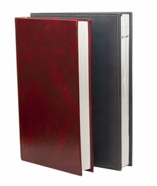 Free Leather Diary Nootebook Royalty Free Stock Photo - 23595755