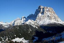 Free Alps Dolomites Pelmo Peak Stock Photography - 23596232