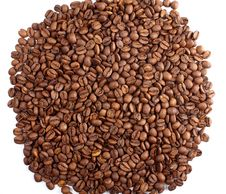 Free Pile Of Coffee Crops On White Stock Photo - 23596540