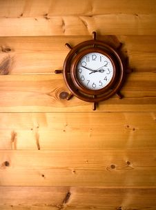 Free Clock On Wall Royalty Free Stock Image - 23597086