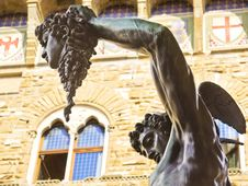 Free Perseus With The Head Of Medusa Stock Images - 23599844