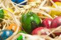 Free Easter Eggs In Nest Stock Image - 2361441
