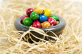 Free Colorful Eggs In Bowl Stock Image - 2361701
