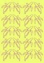Free Bananna Background Royalty Free Stock Image - 2365456