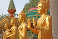 Free Golden Statues Royalty Free Stock Photo - 2366265