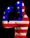 Free Muscle Man US 8 Stock Photo - 2366770