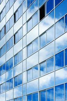 Free Cloudy In The Office Building Royalty Free Stock Photo - 2360795