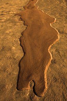 Lava River Royalty Free Stock Photo
