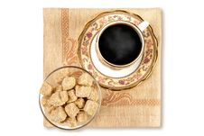 Free Coffee And Brown Sugar Stock Image - 2360991