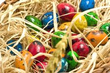 Free Easter Eggs In Nest Stock Photography - 2361112