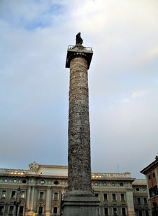 Free Rome Colonna Traiana Royalty Free Stock Image - 2361406