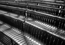 Free Black Plastic Benches Stock Photography - 2361432