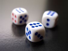 Free Dice 1 Stock Photography - 2361762