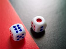Free Dice 3 Royalty Free Stock Image - 2361766