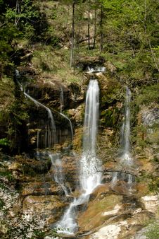 Free Silk Waterfall Royalty Free Stock Images - 2362899