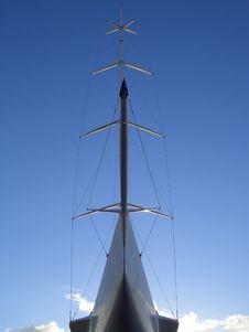 Boat Mast Royalty Free Stock Image