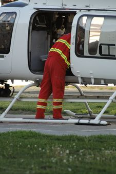 Free Emergency Helicopter Stock Photography - 2363922