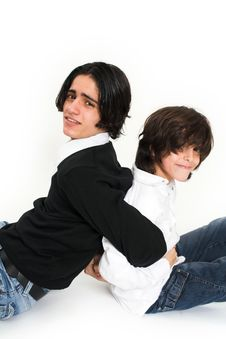 Free Brother Portrait Royalty Free Stock Photography - 2364237