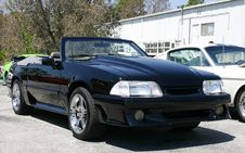 Free 1993 Ford Mustang Convertible Stock Photos - 2364853