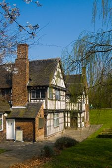 Free Ford Green Hall In The Spring Stock Image - 2365291