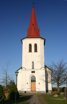 Church In Rorum, Scania, South Royalty Free Stock Images