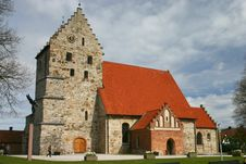 Saint Nicolai Church, A Mediev Royalty Free Stock Photo