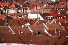 Free Rooftops Stock Image - 2366211
