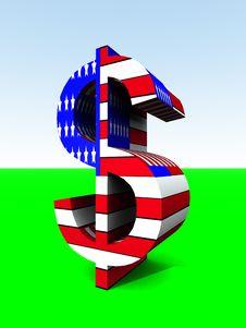 Free US Dollar 6 Royalty Free Stock Photo - 2366675