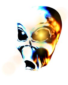 Free Alien Face 8 Royalty Free Stock Images - 2366709